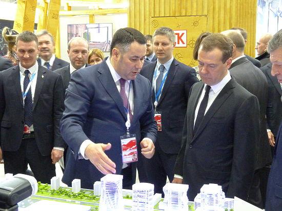 На консилиуме «Сочи-2017» Медведев поддержал проекты «Тверь Сити» и«Тверь Экспо»