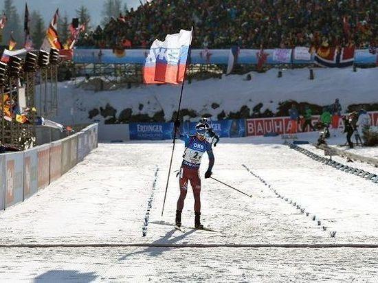 Победный флаг Антона Шипулина с
