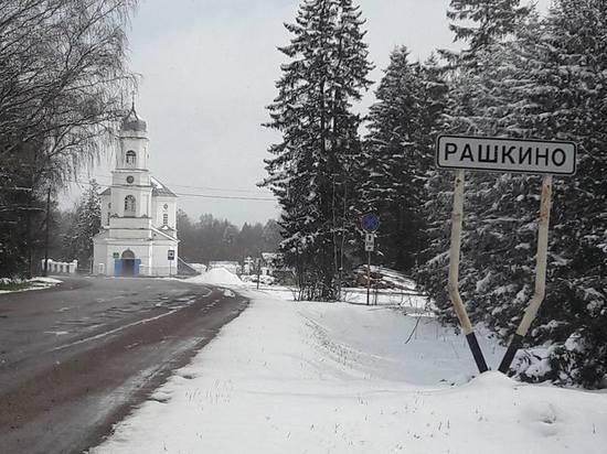 Тверскую область завалило снегом