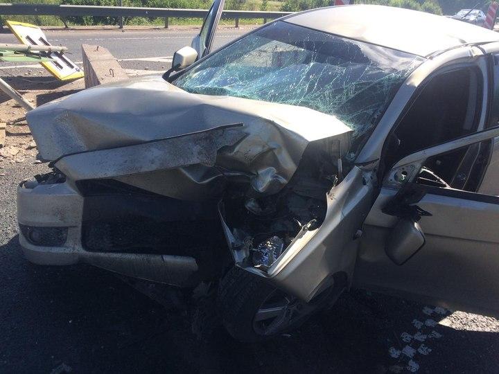 Натрассе вТверской области намосту умер шофёр