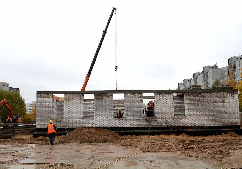 ВТвери продолжается строительство детской больницы вмикрорайоне «Южный»