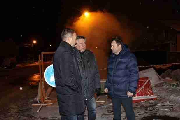 ВЗаволжском районе Твери ликвидируют дефект теплотрассы, ряд домов остался без тепла