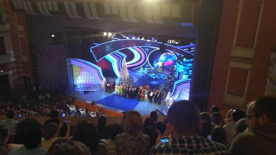 Тверские «Плюшки» победили цирк вфинале Высшей лиги КВН