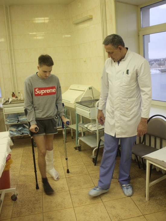 Тверские врачи восстановили ребёнку ногу, которой уже не было