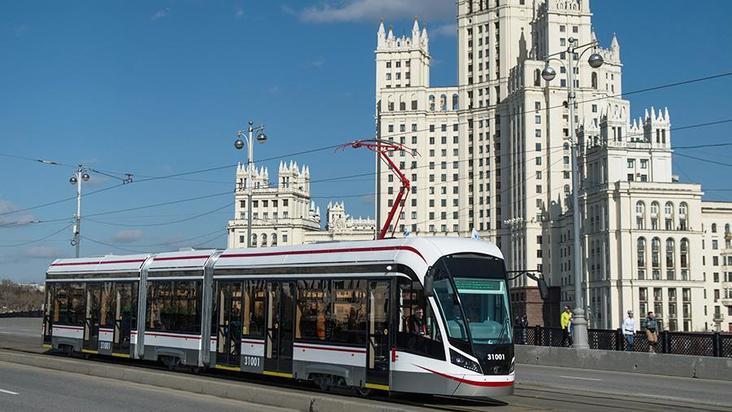 Первые бесшумные трамваи «Витязь-М» получило столичное  Октябрьское депо