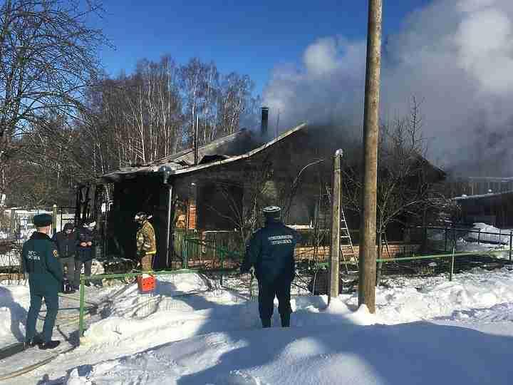 ВТверской области напожаре умер 10-летний парень