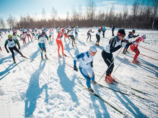Школьник из Тверской области одержал победу в лыжном марафоне