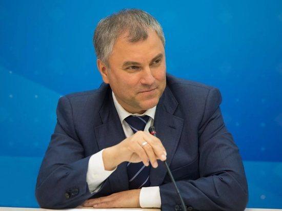 Володин расказал тверским журналистам как Россия справляется с санкциями