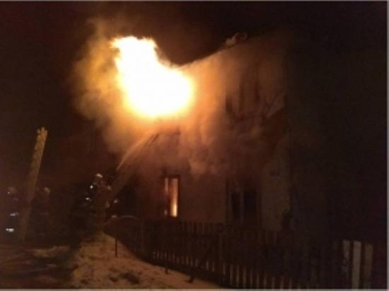 ВТверской области пожар вмногоквартирном доме тушили 46 человек