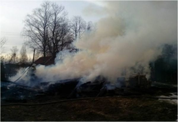 2апреля вКимрах напожаре умер мужчина