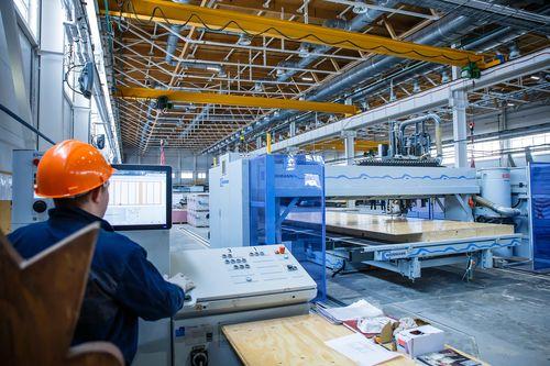 ВЭБ профинансировал завод попроизводству плит для деревянных домов вТверской области